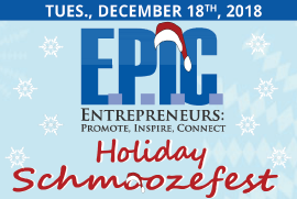 E.P.I.C. Holiday Schmoozefest Event!